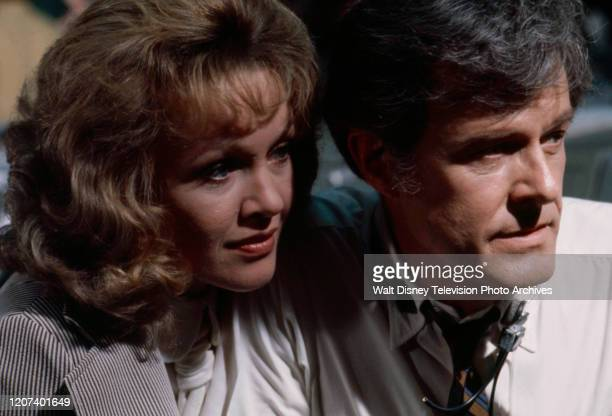 Sandra Dee Robert Culp appearing in the ABC tv movie 'Houston We've Got a Problem'