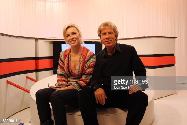 Sandra DESSANGE / Laurent PAGANELLI Studio Les dessous du Sport Paris