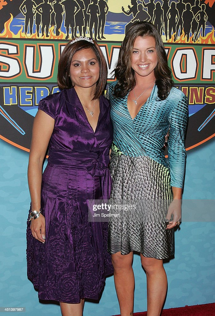 Sandra Diaz Twine And Parvati Shallow Attend The Survivor Heroes Vs Villains Finale Reunion