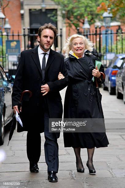 Sandra Dickinson attends the memorial service for Victor Spinetti at St Paul's Church on October 2 2012 in London England
