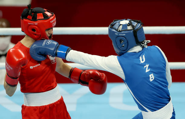 JPN: Boxing - Olympics: Day 2