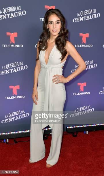 """Sandra Echeverria attends the Telemundo screening of """"La Querida Del Centauro"""" on May 2, 2017 in Coral Gables, Florida."""