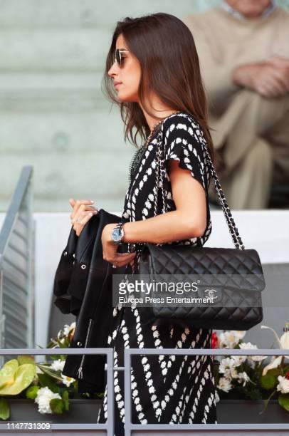 Sandra Gago attends Mutua Madrid Open at La Caja Magica on May 07 2019 in Madrid Spain