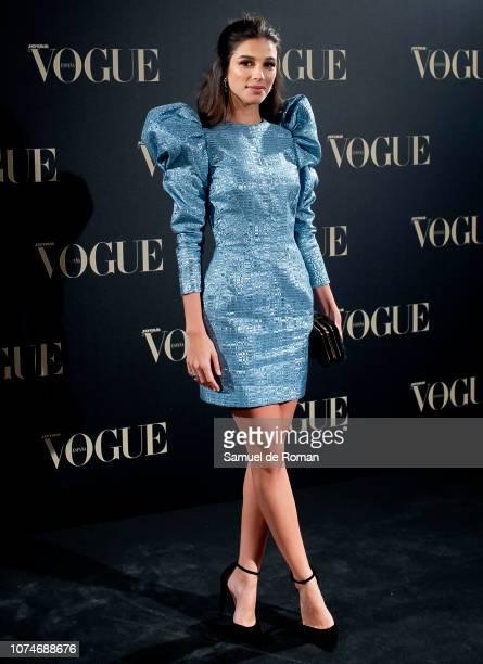 Sandra Gago attends the Vogue Joyas awards 2018 at Palacio de Santoña on November 29 2018 in Madrid Spain