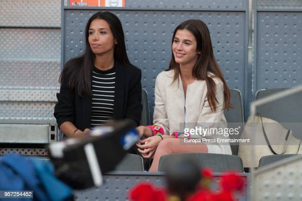 Sandra Gago is seen attending the Mutua Madrid Open tennis tournament at the Caja Magica on May 10 2018 in Madrid Spain