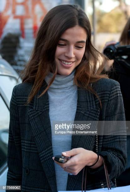Sandra Gago is seen on January 17 2018 in Madrid Spain