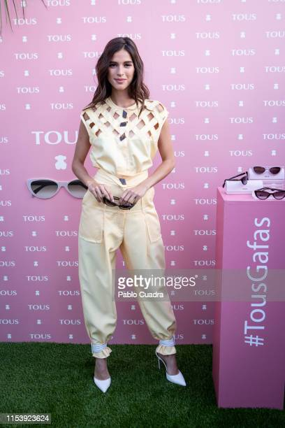 Sandra Gago presents the new collection of sunglasses by 'Tous' and 'De Rigo' at Hyatt Centric Gran Via on June 05 2019 in Madrid Spain