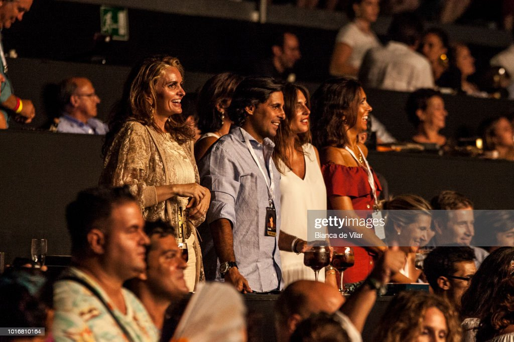 Celebrities Attend Texas Concert in Marbella