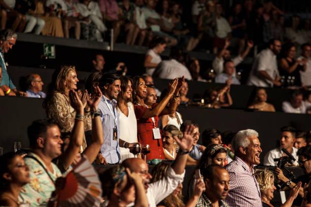 9e1e3daef7924 Celebrities Attend Texas Concert in Marbella Gente  Sandra García-Sanjuán