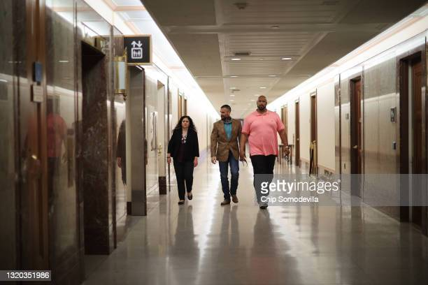 Sandra Garza, girlfriend of the late Capitol Police officer Brian Sicknick, DC Metropolitan Police Officer Michael Fanone, and U.S. Capitol Police...