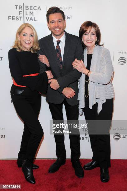 Sandra Geller Ozzy Inguanzo Dava Whisenant attend premiere of Bathtubs Over Broadway Tribeca Film Festival at BMCC