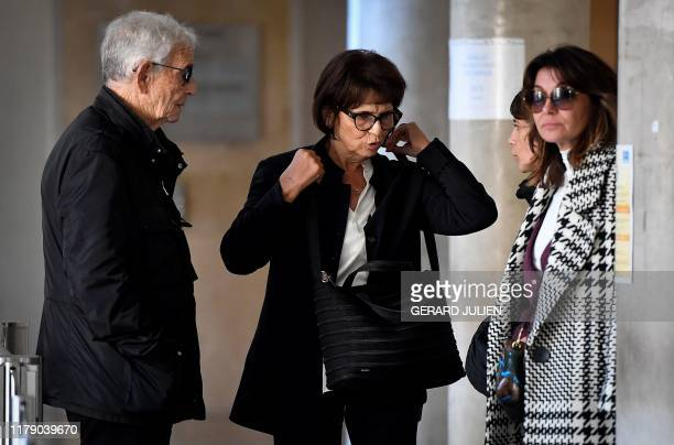 Sandra GermaniCasanova widow of Richard Casanova looks on past Richard's parents François Casanova and Nicole Casanova all civil claimants as they...