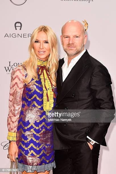 Sandra Gries and Christian Gries attend the Tribute To Bambi at Station on October 6 2016 in Berlin Germany