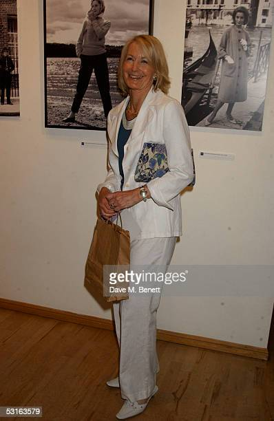 Sandra Howard attends the Private View for The Sixties Set An Inside View By Robin DouglasHome at The Air Gallery on June 28 2005 in London England...