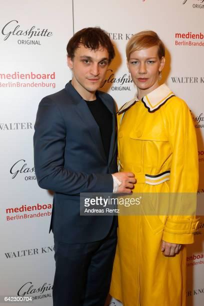 Sandra Hueller attends the Medienboard BerlinBrandenburg Reception sponsored by Glashuette Original on February 9 2017 in Berlin Germany