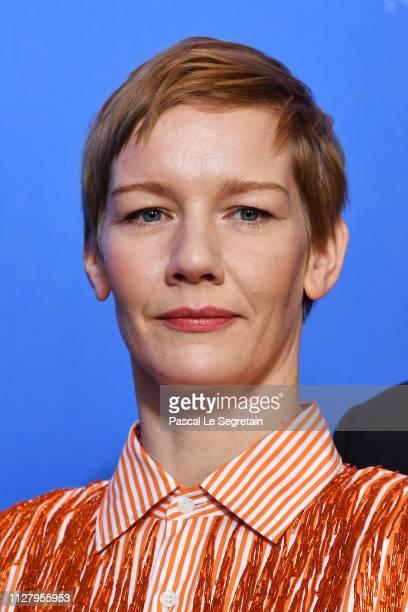 Sandra Hueller poses at the International Jury photocall during the 69th Berlinale International Film Festival Berlin at Grand Hyatt Hotel on...