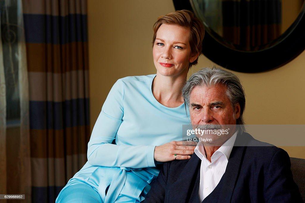 Peter Simonischek and Sandra Huller, Los Angeles Times, December 15, 2016