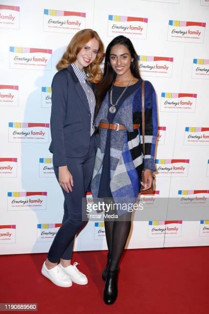Sandra Hunke and Sayana Ranjan attend the Ernsting's Family Fashion Dinner on November 26 2019 in Hamburg Germany