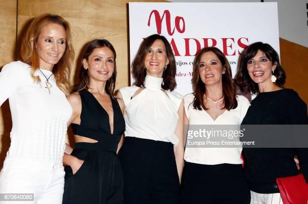 Sandra Ibarra Almudena Fernandez Maria FernandezMiranda Mamen Mendizabal and Maribel Verdu attend the presentation of the book 'No madres' on April...