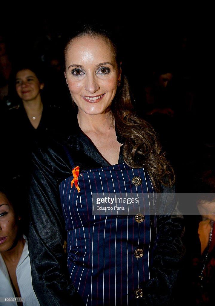 Sandra Ibarra attends Cibeles Madrid Fashion Week A/W 2011 at Ifema on February 19, 2011 in Madrid, Spain.
