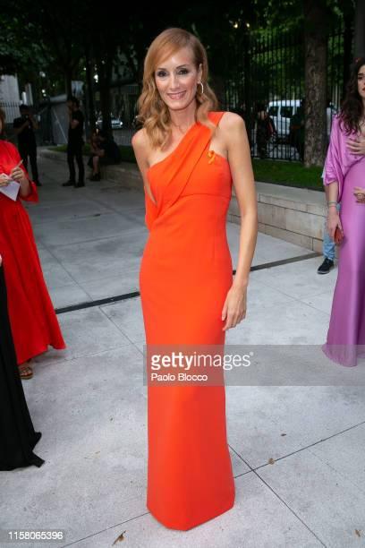 Sandra Ibarra is seen arriving at 'Yo Dona' International Awards 2019 at ThyssenBornemisza Museum on June 24 2019 in Madrid Spain