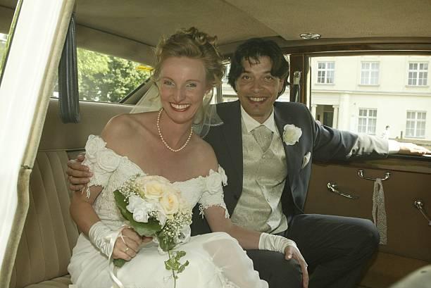 Sandra Krolik, Ehemann Wolf-Guido Grasenick, Hochzeit von Sandra ...