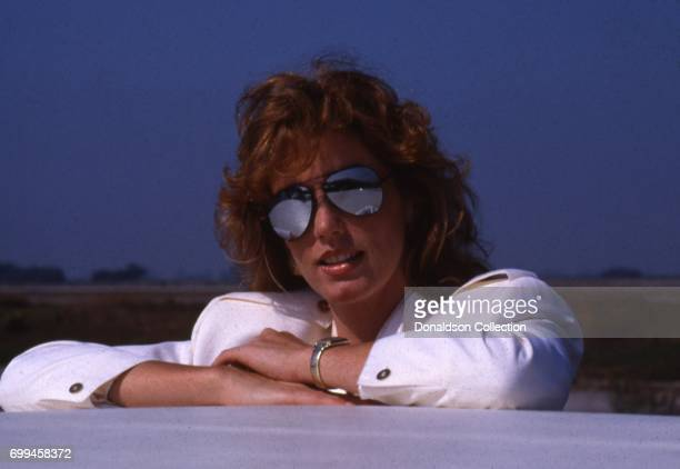 Sandra Kronemeyer from the cast of the tv show 'Airwolf' midSeason 3 poses for a portrait in September 1985 in Los Angeles California