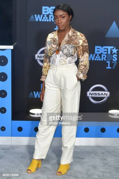 Sandra Lambeck attends the 2017 BET Awards at Microsoft Theater on June 25 2017 in Los Angeles California