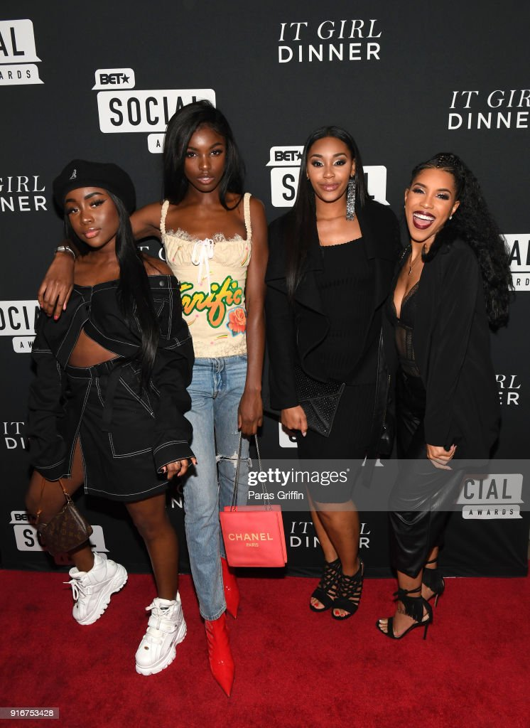 BET's Social Awards 2018 - It Girls Welcome Dinner : News Photo