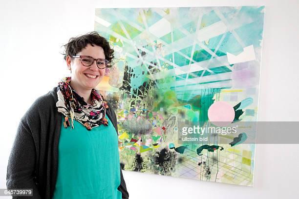 Sandra Lange gastiert mit ihrer Ausstellung Konstruktive Interferenz vom 01 Februar bis 11 März 2015 in der Galerie Heinz Holtmann KölnDas Bild zeigt...