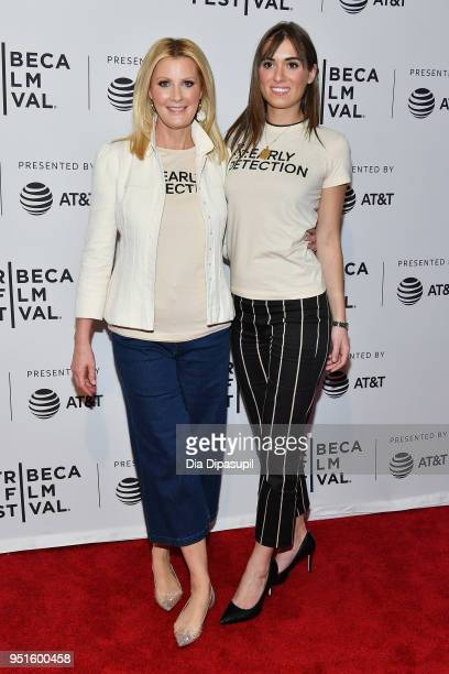 Sandra Lee and Mariah Kennedy Cuomo attend a screening of RX Early Detection A Cancer Journey With Sandra Lee during the 2018 Tribeca Film Festiva at...