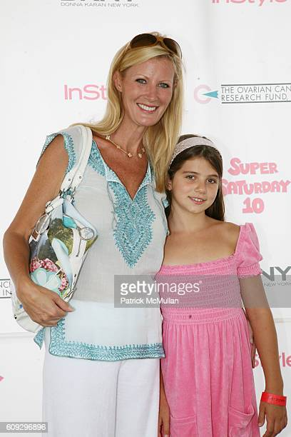 Sandra Lee and Michaela Cuomo attend KELLY RIPA DONNA KARAN and INSTYLE Host SUPER SATURDAY 10 To Benefit The Ovarian Cancer Research Fund at Nova's...