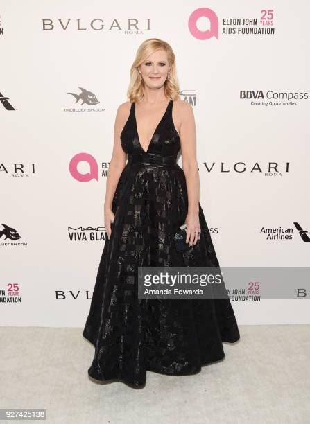 Sandra Lee arrives at the 26th Annual Elton John AIDS Foundation's Academy Awards Viewing Party on March 4 2018 in West Hollywood California