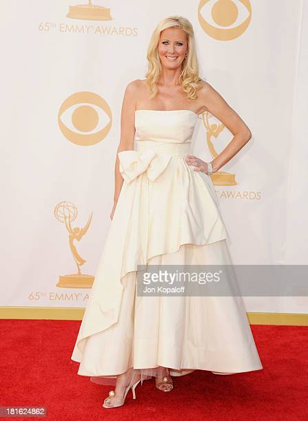 Sandra Lee arrives at the 65th Annual Primetime Emmy Awards at Nokia Theatre LA Live on September 22 2013 in Los Angeles California