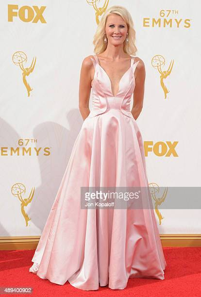 Sandra Lee arrives at the 67th Annual Primetime Emmy Awards at Microsoft Theater on September 20 2015 in Los Angeles California