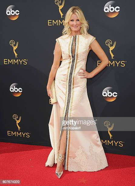 Sandra Lee arrives at the 68th Annual Primetime Emmy Awards at Microsoft Theater on September 18 2016 in Los Angeles California