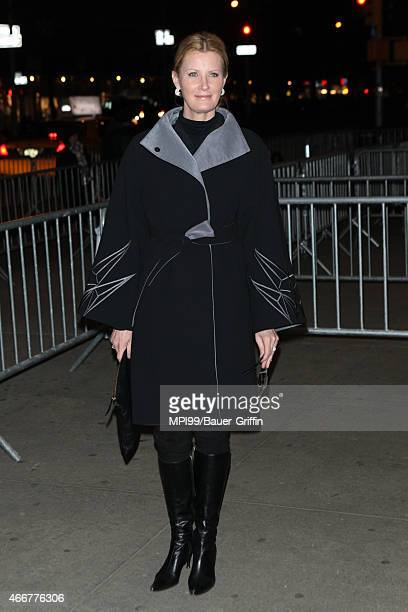 Sandra Lee arriving to the Danny Collins film premiere on March 18 2015 in New York City