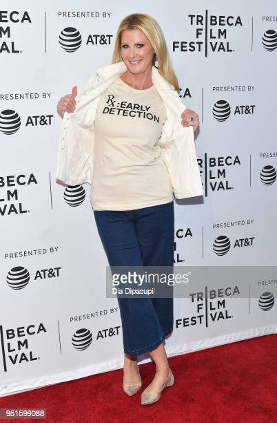 Sandra Lee attends a screening of RX Early Detection A Cancer Journey With Sandra Lee during the 2018 Tribeca Film Festiva at SVA Theatre on April 26...