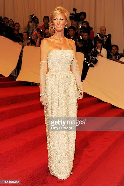 Sandra Lee attends the Alexander McQueen Savage Beauty Costume Institute Gala at The Metropolitan Museum of Art on May 2 2011 in New York City