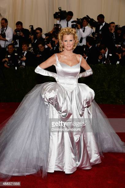 Sandra Lee attends the 'Charles James Beyond Fashion' Costume Institute Gala at the Metropolitan Museum of Art on May 5 2014 in New York City