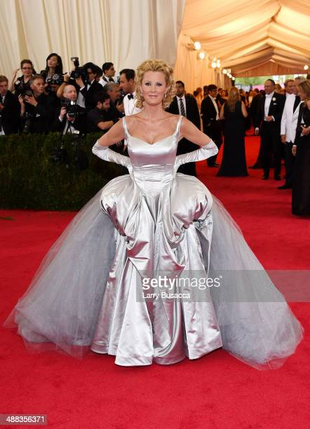 Sandra Lee attends the Charles James Beyond Fashion Costume Institute Gala at the Metropolitan Museum of Art on May 5 2014 in New York City