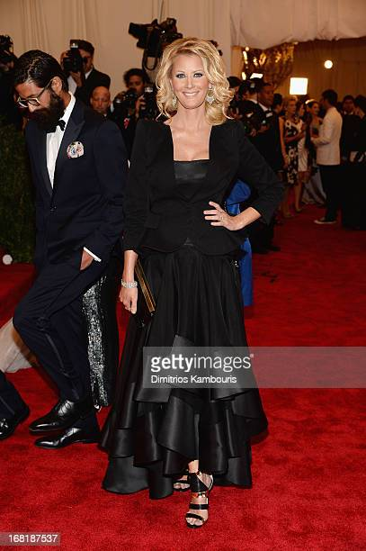 Sandra Lee attends the Costume Institute Gala for the PUNK Chaos to Couture exhibition at the Metropolitan Museum of Art on May 6 2013 in New York...