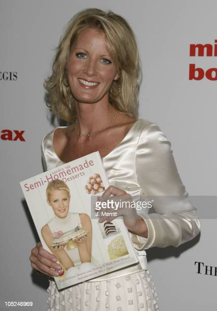 Sandra Lee during Benefit Book Launch For Sandra Lee's SemiHomemade Dessert's at The St Regis Hotel in Los Angeles California United States
