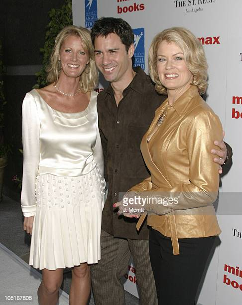 Sandra Lee Eric McCormack and Mary Hart during Benefit Book Launch For Sandra Lee's SemiHomemade Dessert's at The St Regis Hotel in Los Angeles...