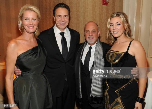 Sandra Lee Governor Andrew Cuomo Billy Joel and Alexis Roderick attend the Elton John AIDS Foundation's 12th Annual An Enduring Vision Benefit at...