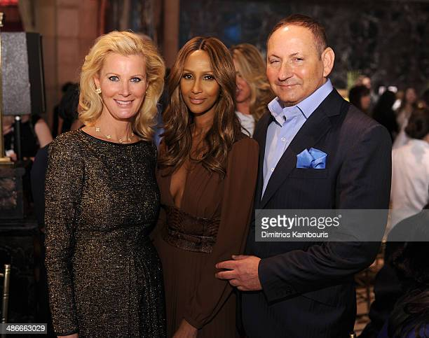 Sandra Lee Iman and John Demsey attend Variety Power Of Women New York presented by FYI at Cipriani 42nd Street on April 25 2014 in New York City