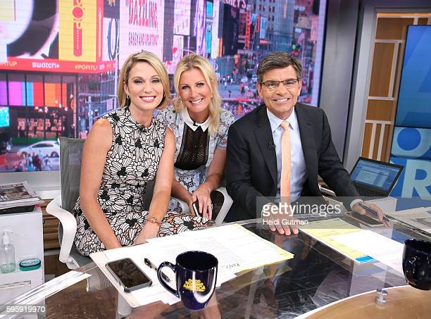 AMERICA Sandra Lee is a guest on Good Morning America 8/24/16 airing on the Walt Disney Television via Getty Images Television Network AMY