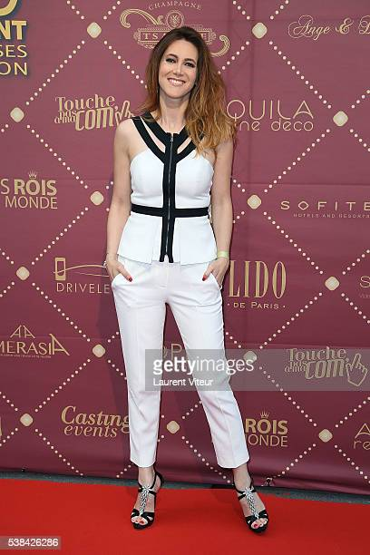 Sandra Lou attends the 'Gold Prix De La TNT' Award Ceremony at Theatre Bobino on June 6 2016 in Paris France