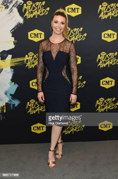 Sandra Lynn attends the 2018 CMT Music Awards at Bridgestone Arena on June 6 2018 in Nashville Tennessee
