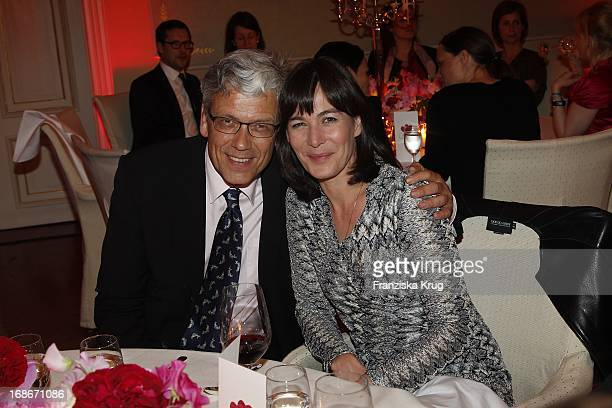 Sandra Maahn And Dr Christoph Goetz At The Ceremony Of Couple Of The Year Of The magazine Gala And The Montblanc company in the Hotel Louis C Jacob...